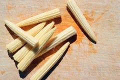 小玉米。 库存照片