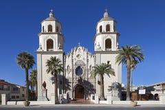 圣奥斯丁大教堂在图森,亚利桑那 免版税库存图片