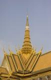 Королевский дворец, Пномпень, Камбоджа Стоковая Фотография RF