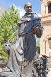 圣弗朗西斯雕象 免版税库存图片