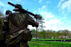 越战纪念碑 免版税库存照片