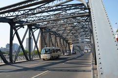 上海庭院桥梁  免版税图库摄影