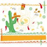 Μεξικάνικη κουζίνα Στοκ Εικόνα