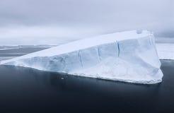 南极洲威德尔海冰山 库存图片