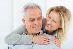 Счастливые зрелые пары Стоковые Фото