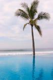 无限墨西哥池 免版税库存图片