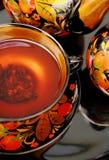 русский чай Стоковые Фотографии RF
