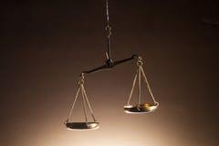Весы правосудия Стоковая Фотография