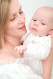 μητέρα μωρών Στοκ εικόνες με δικαίωμα ελεύθερης χρήσης
