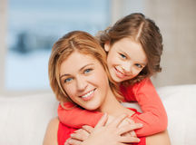 母亲和女儿 库存照片