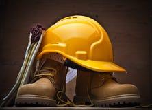 Προστατευτικός εξοπλισμός εργασίας Στοκ φωτογραφία με δικαίωμα ελεύθερης χρήσης