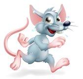 老鼠赛跑例证 库存图片