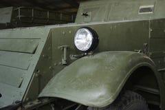 Часть старой военной машины Стоковое Изображение RF