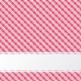 Абстрактная красная ретро текстура с нашивкой Стоковое фото RF