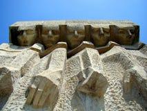 对法西斯主义的受害者的纪念碑在克拉科夫  库存照片