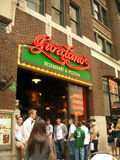 Ресторан пиццы стиля Чикаго Джордано известный Стоковые Фотографии RF