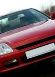 κόκκινος αθλητισμός αυτοκινήτων Στοκ εικόνα με δικαίωμα ελεύθερης χρήσης