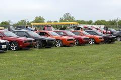 Выставка автомобиля Стоковые Фотографии RF