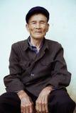 中国老人 免版税库存照片