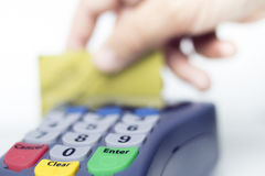 Кредитная карточка Стоковое Фото