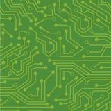 绿色电路 免版税库存照片
