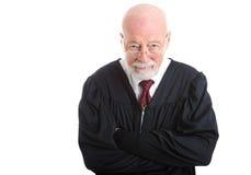 怀疑的法官- 免版税库存照片