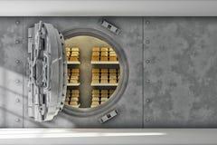 Ασφαλής χώρος για τις οικονομίες σας Στοκ εικόνα με δικαίωμα ελεύθερης χρήσης