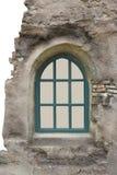 Окно в старой стене Стоковое Изображение