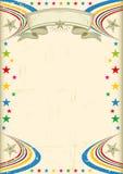 Πολύχρωμη αφίσα γιορτής. Στοκ εικόνα με δικαίωμα ελεύθερης χρήσης