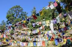 Σημαίες προσευχής Στοκ Εικόνες