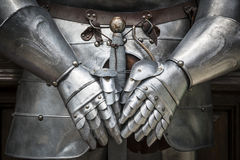 Панцырь рыцаря детали Стоковое Фото