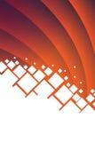 Абстрактная предпосылка вектора с белыми квадратами Стоковые Изображения