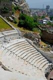 罗马圆形露天剧场在普罗夫迪夫 免版税库存图片
