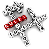 规则 免版税库存图片