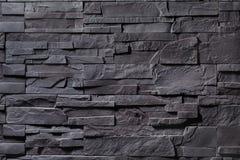 Σύσταση του γκρίζου τοίχου πετρών Στοκ εικόνες με δικαίωμα ελεύθερης χρήσης