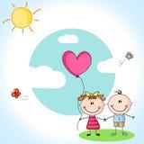 Милые дети Стоковое фото RF