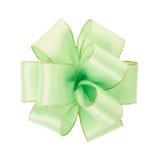绿色弓 免版税库存图片