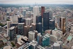 城市核心多伦多 库存图片