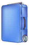Современный голубой случай вагонетки Стоковое Изображение RF