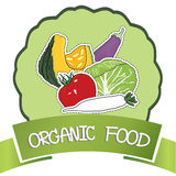 在白色背景的新鲜蔬菜 免版税库存照片