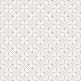 Άνευ ραφής γεωμετρικό σχέδιο στο αναδρομικό ύφος, μαλακά χρώματα. Στοκ Εικόνα