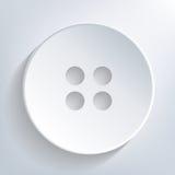 Кнопка одежды Стоковое фото RF