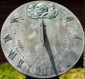 Солнечные часы Стоковые Фотографии RF