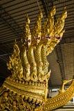 皇家游艇的顶头部分 库存照片