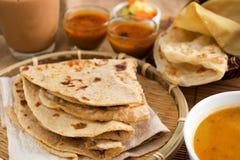 印地安烹调 库存照片