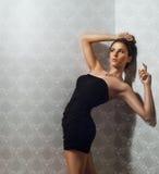 Девушка в платье Стоковое Изображение RF