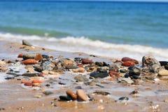 海石头。 库存照片