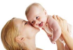 有婴孩的母亲 图库摄影