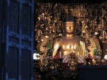 Золотой Будда Стоковые Фотографии RF
