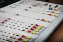Рычаги и кнопки меню Стоковое Изображение RF
